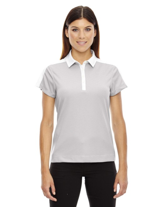 Picture of Ash City - North End 78676 Womens Symmetry UTK cool?logik Coffee Performance Polo