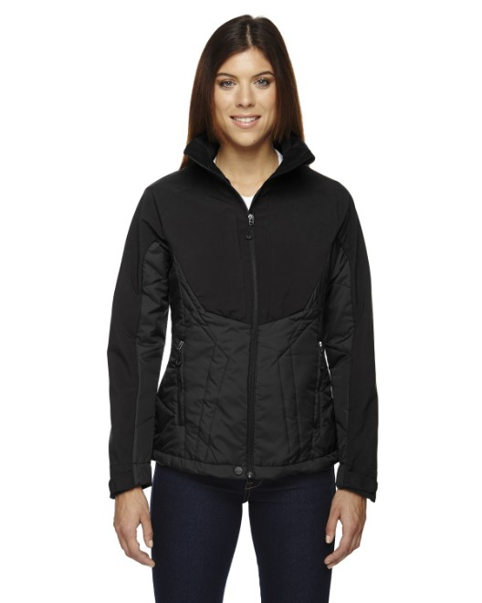 Picture of Ash City - North End 78679 Womens Innovate Insulated Hybrid Soft Shell Jacket