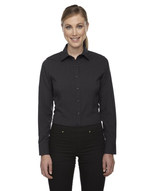 Picture of Ash City - North End 78802 Womens Melange Performance Shirt
