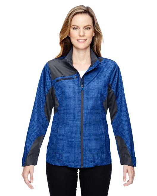 Picture of Ash City - North End 78805 Womens Sprint Interactive Printed Lightweight Jacket