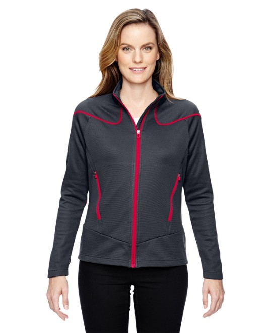 Picture of Ash City - North End 78806 Womens Cadence Interactive Two-Tone Brush Back Jacket