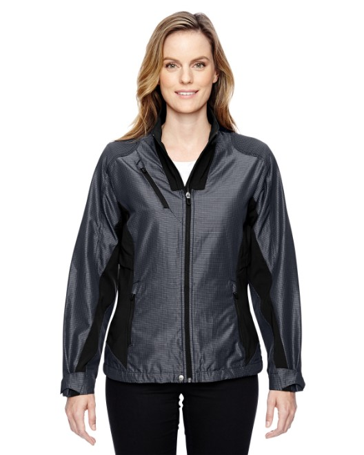 Picture of Ash City - North End 78807 Womens Aero Interactive Two-Tone Lightweight Jacket