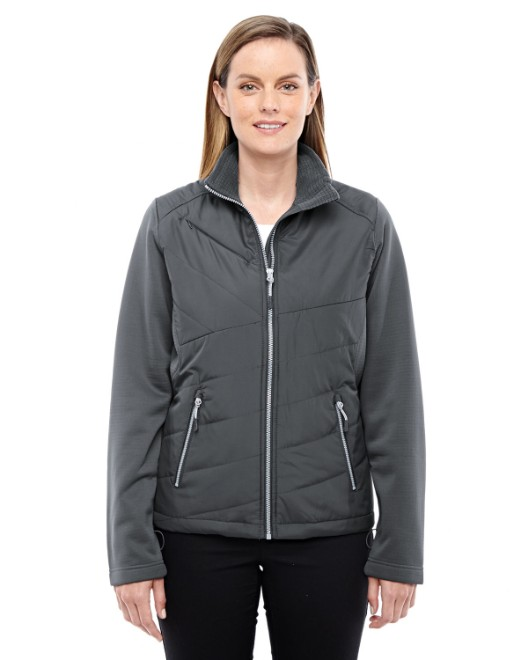 Picture of Ash City - North End 78809 Womens Quantum Interactive Hybrid Insulated Jacket