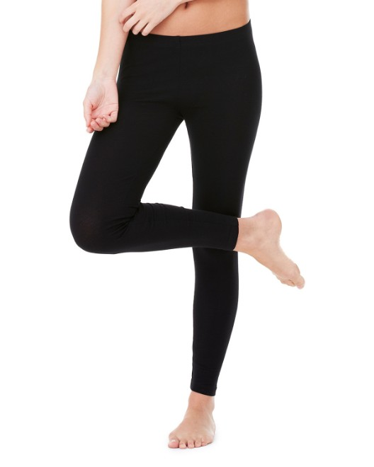 Picture of Bella + Canvas 812 Womens Cotton/Spandex Legging