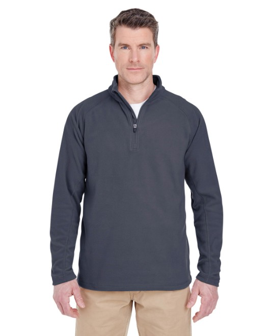 Picture of UltraClub 8180 Adult Cool & Dry Quarter-Zip Microfleece