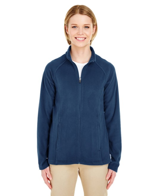 Picture of UltraClub 8181 Womens Cool & Dry Full-Zip Microfleece