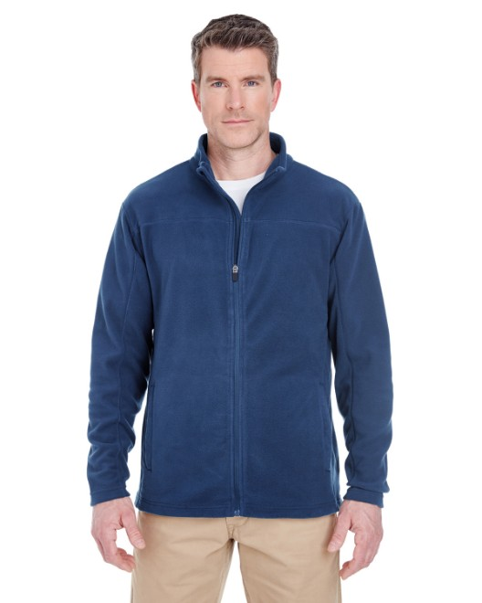 Picture of UltraClub 8185 Men's Cool & Dry Full-Zip Microfleece