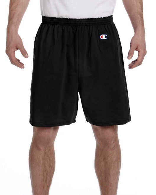 Picture of Champion 8187 Adult Cotton Gym Short