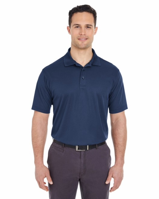 Picture of UltraClub 8210T Men's Tall Cool & Dry Mesh Pique Polo
