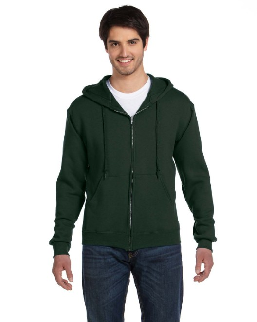Picture of Fruit of the Loom 82230 Adult 12 oz. Supercotton Full-Zip Hood