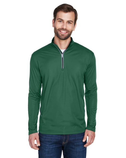 Picture of UltraClub 8230 Men's Cool & Dry Sport Quarter-Zip Pullover