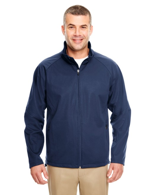 Picture of UltraClub 8275 Adult Two-Tone Soft Shell Jacket