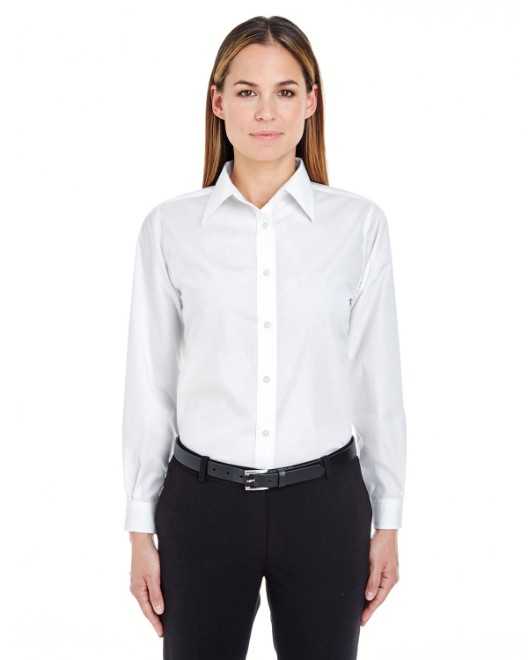 Picture of UltraClub 8331 Womens Performance Poplin