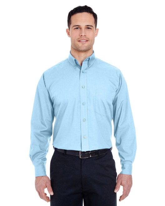Picture of UltraClub 8355 Men's Easy-Care Broadcloth