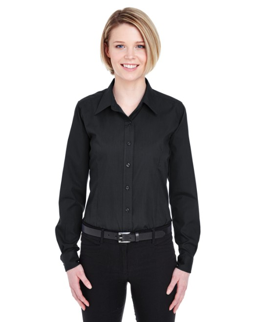 Picture of UltraClub 8355L Womens Easy-Care Broadcloth