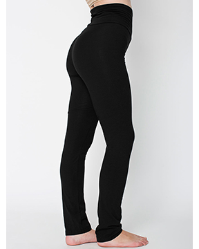 Picture of American Apparel 8375W Womens Cotton/Spandex Yoga Pant