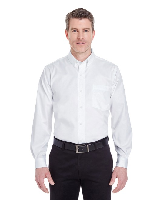Picture of UltraClub 8380 Men's Non-Iron Pinpoint