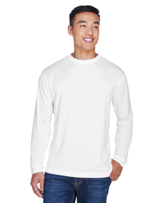 Picture of UltraClub 8401 Adult Cool & Dry Sport Long-Sleeve T-Shirt