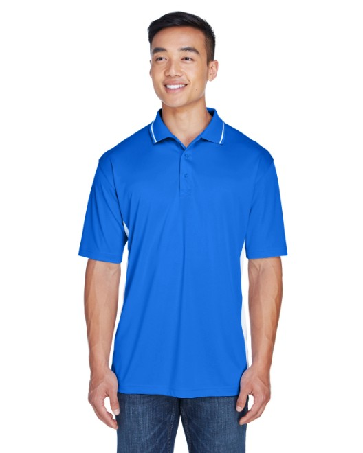 Picture of UltraClub 8406 Men's Cool & Dry Sport Two-Tone Polo