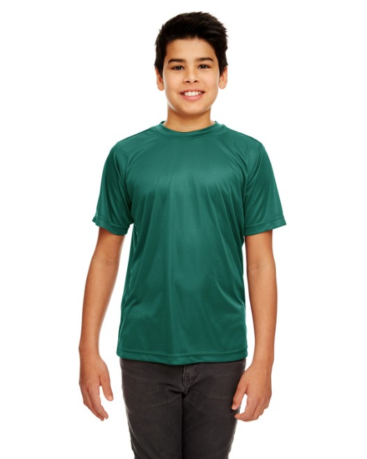 Picture of UltraClub 8420Y Youth Cool & Dry Sport Performance InterlockT-Shirt