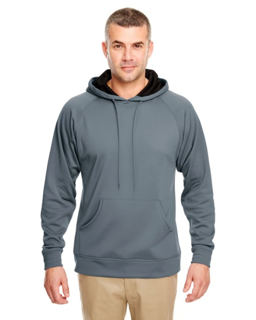 Picture of UltraClub 8441 Adult Cool & Dry Sport Hooded Fleece