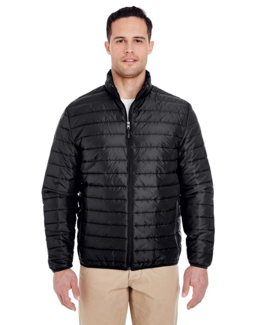 Picture of UltraClub 8469 Adult Quilted Puffy Jacket