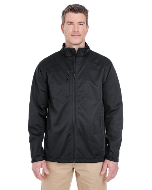 Picture of UltraClub 8477 Men's Solid Soft Shell Jacket