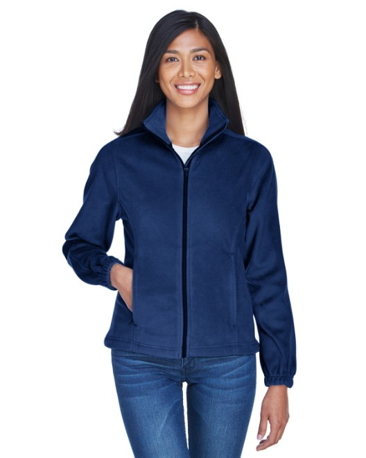 Picture of UltraClub 8481 Womens Iceberg Fleece Full-Zip Jacket
