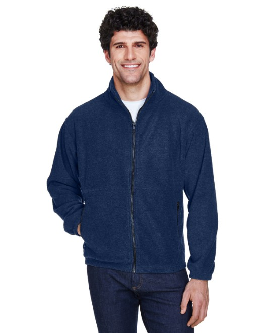 Picture of UltraClub 8485 Men's Iceberg Fleece Full-Zip Jacket