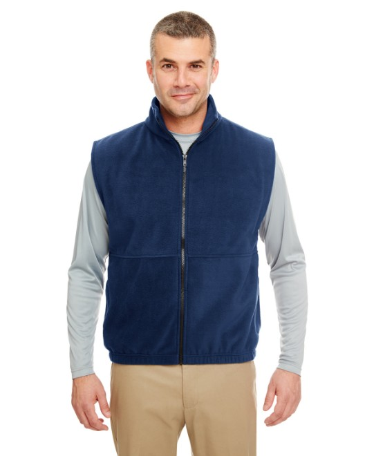 Picture of UltraClub 8486 Adult Iceberg Fleece Full-Zip Vest