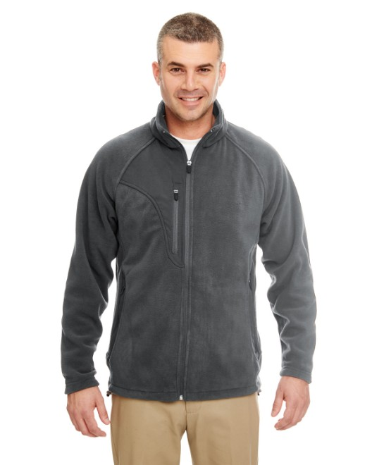 Picture of UltraClub 8495 Men's Microfleece Full-Zip Jacket