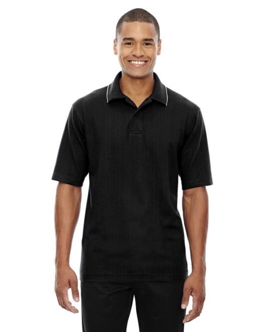 Picture of Ash City - Extreme 85067 Men's Edry Needle-Out Interlock Polo