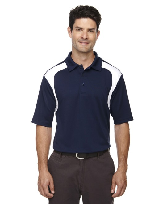Picture of Ash City - Extreme 85105 Men's Eperformance Colorblock Textured Polo