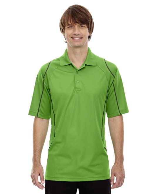 Picture of Ash City - Extreme 85107 Men's Eperformance Velocity Snag Protection Colorblock Polo with Piping