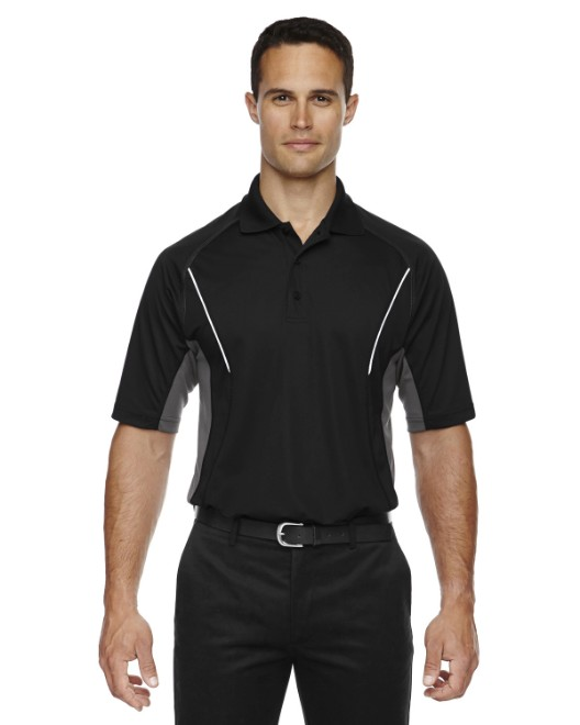 Picture of Ash City - Extreme 85110 Men's Eperformance Parallel Snag Protection Polo with Piping