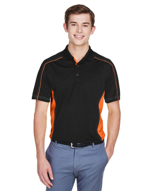 Picture of Ash City - Extreme 85113 Men's Eperformance Fuse Snag Protection Plus Colorblock Polo