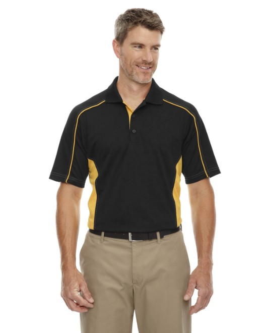 Picture of Ash City - Extreme 85113T Men's Tall Eperformance Fuse Snag Protection Plus Colorblock Polo