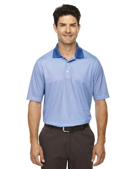 Picture of Ash City - Extreme 85115 Men's Eperformance Launch Snag Protection Striped Polo