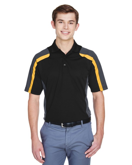 Picture of Ash City - Extreme 85119 Men's Eperformance Strike Colorblock Snag Protection Polo
