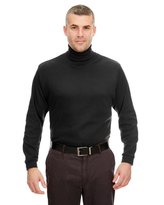 Picture of UltraClub 8516 Adult Egyptian Interlock Long-Sleeve Turtleneck