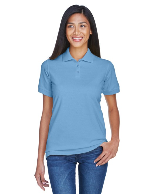 Picture of UltraClub 8530 Womens Classic Pique Polo