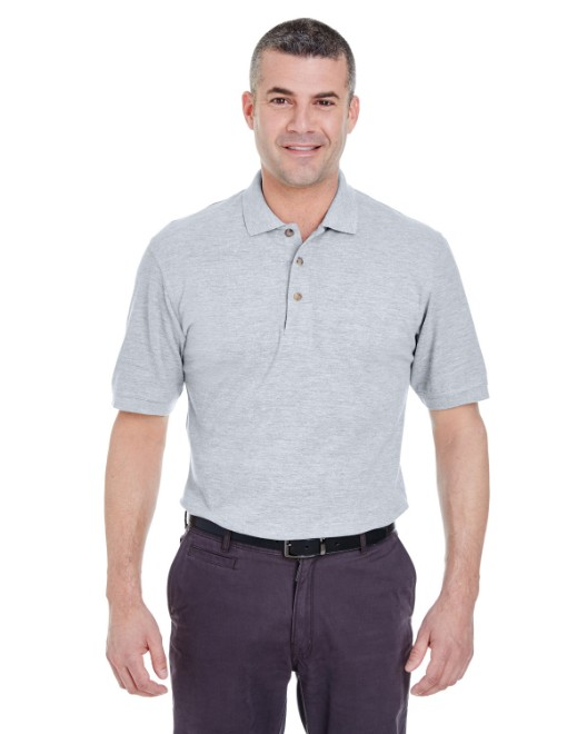 Picture of UltraClub 8535T Men's Tall Classic Pique Polo