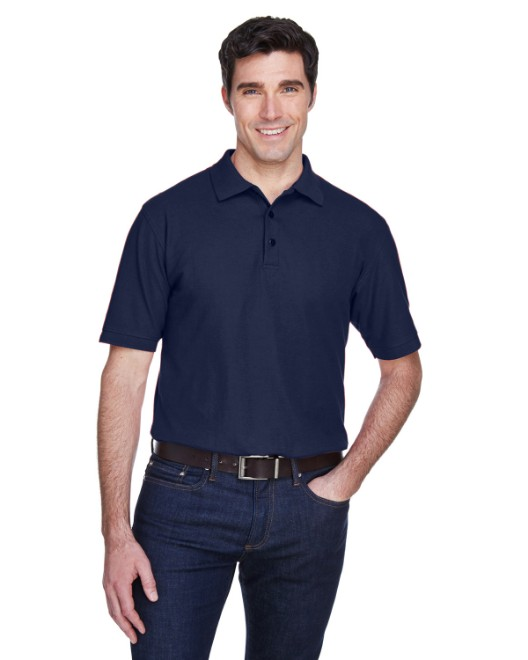 Picture of UltraClub 8540 Men's Whisper Pique Polo
