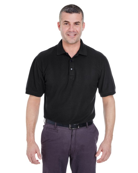 Picture of UltraClub 8540T Men's Tall Whisper Pique Polo