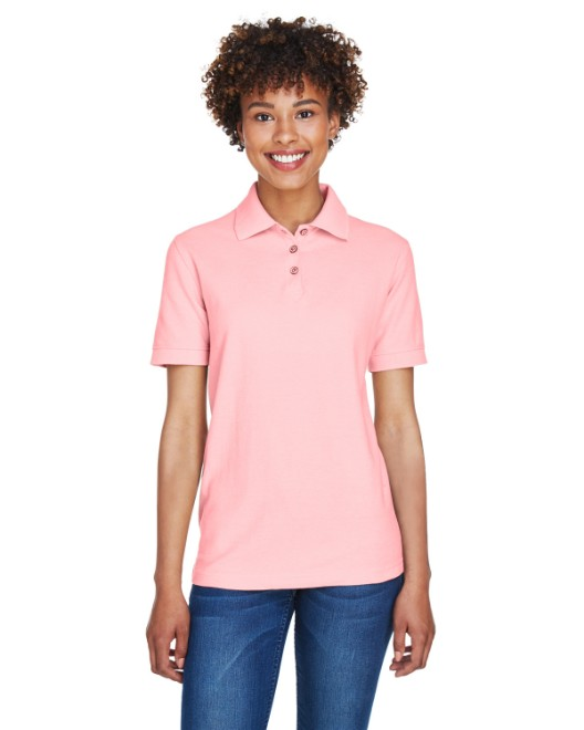 Picture of UltraClub 8541 Womens Whisper Pique Polo