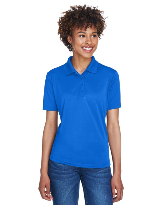 Picture of UltraClub 8610L Womens Cool & Dry 8-Star Elite Performance Interlock Polo
