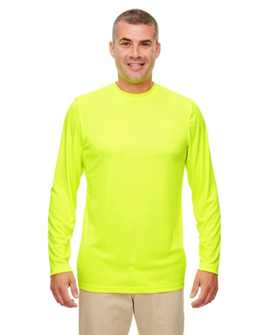 Picture of UltraClub 8622 Men's Cool & Dry Performance Long-Sleeve Top