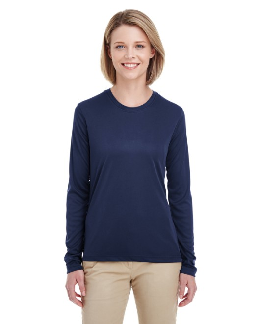 Picture of UltraClub 8622W Womens Cool & Dry Performance Long-Sleeve Top