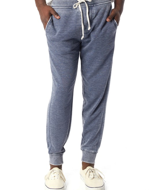 Picture of Alternative 8625F Men's Campus Burnout French Terry Jogger Pants