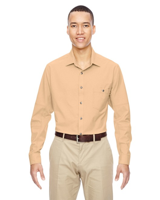 Picture of Ash City - North End 87045 Men's Excursion Utility Two-Tone Performance Shirt